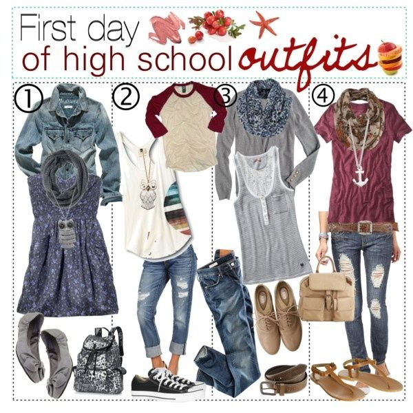 whatgoesgoodwith.com cute fall school outfits for teenage girls ...