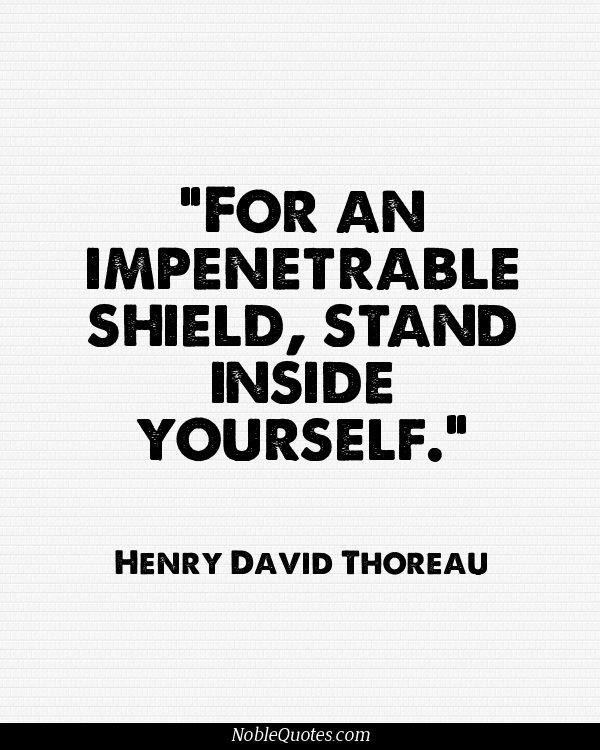 thoreau quotes Favorite thoreau quotes you must live in the present, launch yourself on every wave, find your eternity in each moment fools stand on their island of opportunities and look toward another land.