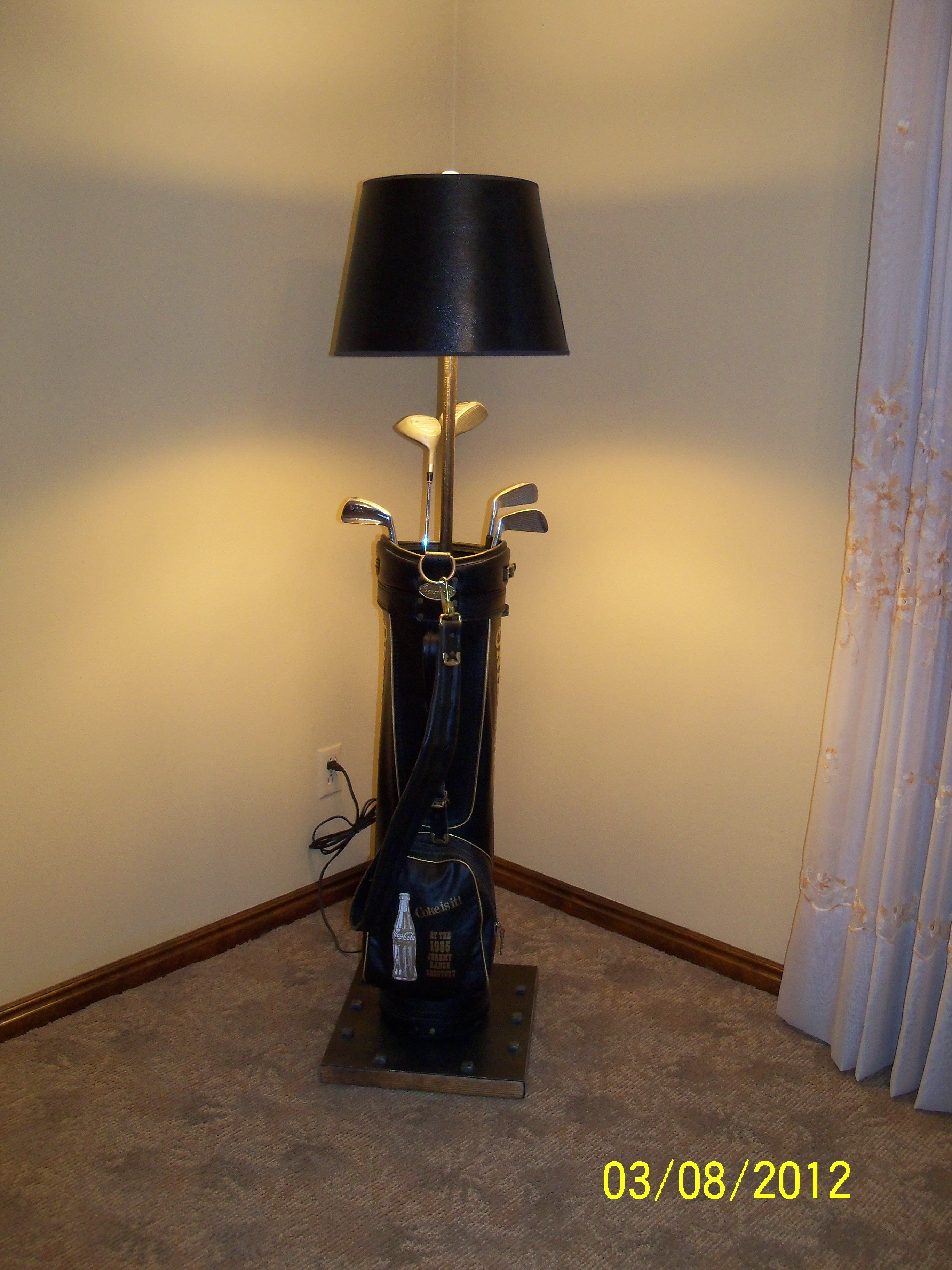 Superior This Is A Jeremy Ranch Shootout, Browning Golf Bag Lamp. It Is Accented By