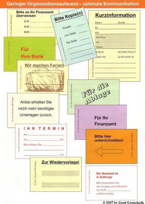 Haftnotizen Haftaufkleber Fur Steuerberater G Gottschalk Handelsvertretung Haftnotizen Aufkleber Notiz