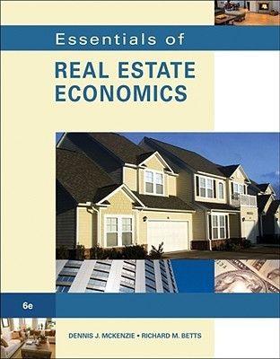 Pdf Download Essentials Of Real Estate Economics By Dennis J Mckenzie Free Epub Economics Books Real Estate Real Estate Values