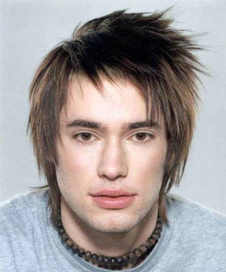 Hairstyles For Guys With Big Foreheads Mens Haircut And