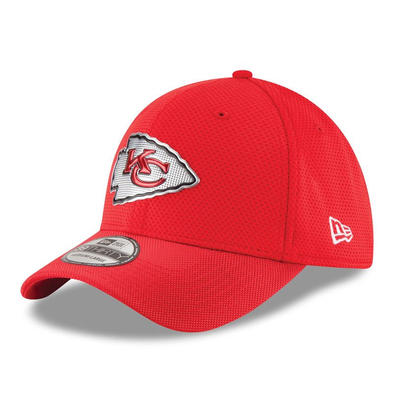 separation shoes 2f096 6f960 Kansas City Chiefs New Era Color Rush On Field 39THIRTY Flex Hat - Red
