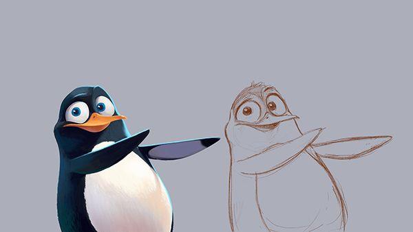 Character concepts by Ariel Belinco, via Behance