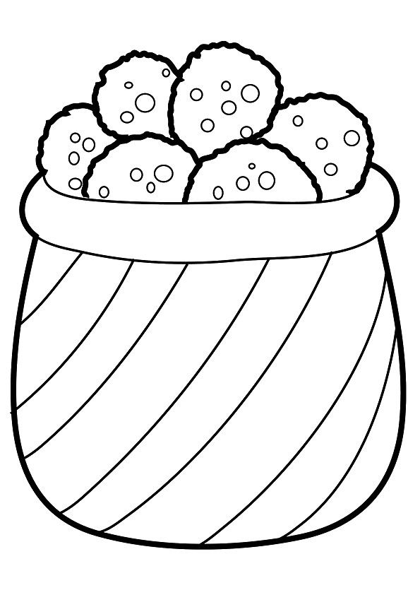 10 Yummy Cookies Coloring Pages For Your Little Ones ...