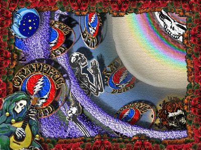 Free Grateful Dead Desktop Wallpapers Myspace Backgrounds Grateful Dead Wallpaper Trippy Wallpaper Grateful Dead