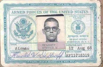 Armed Forces Id Birth Certificate Card Templates Card Template