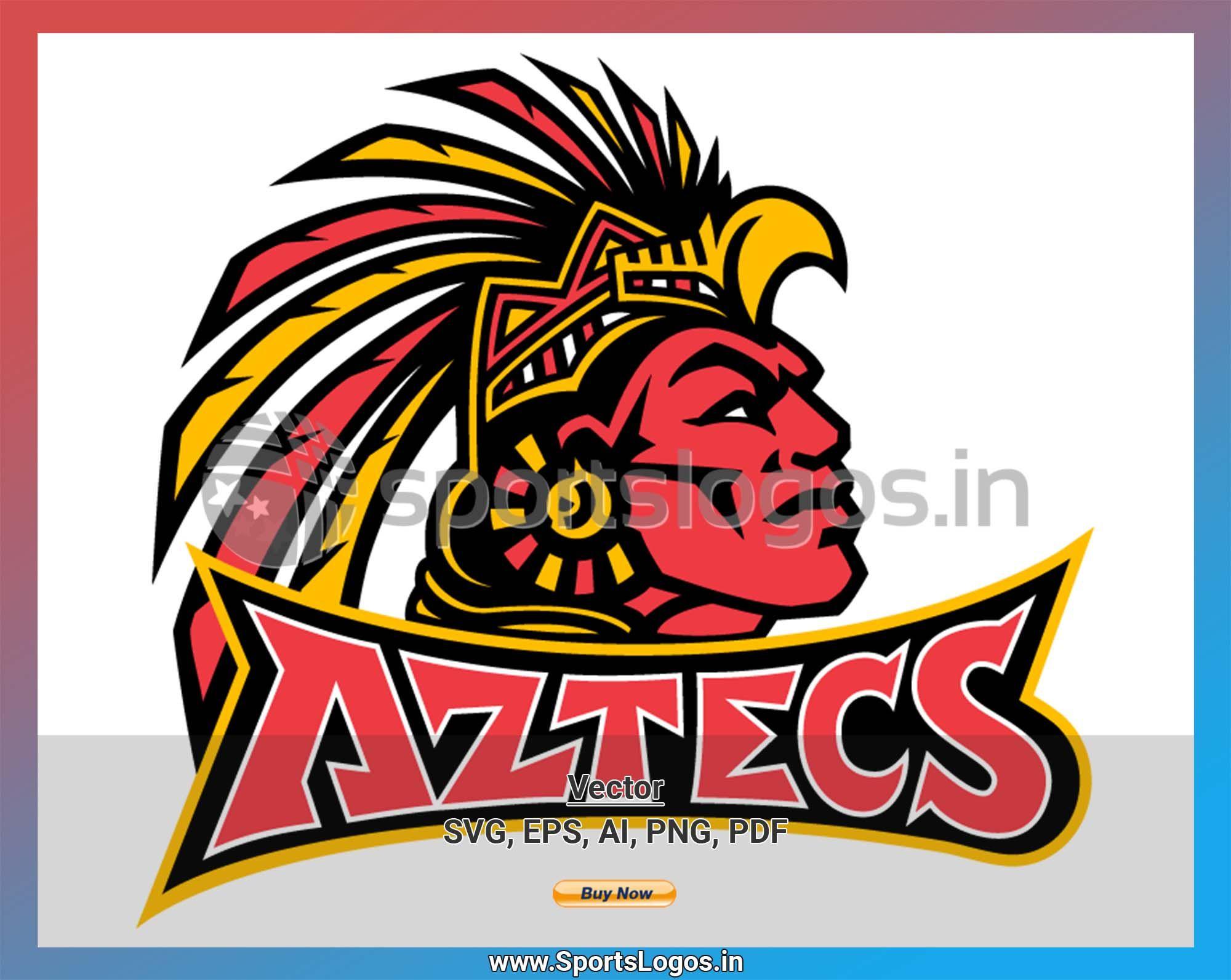 San Diego State Aztecs Alternate Logo Warrior Logo Aztec Logos