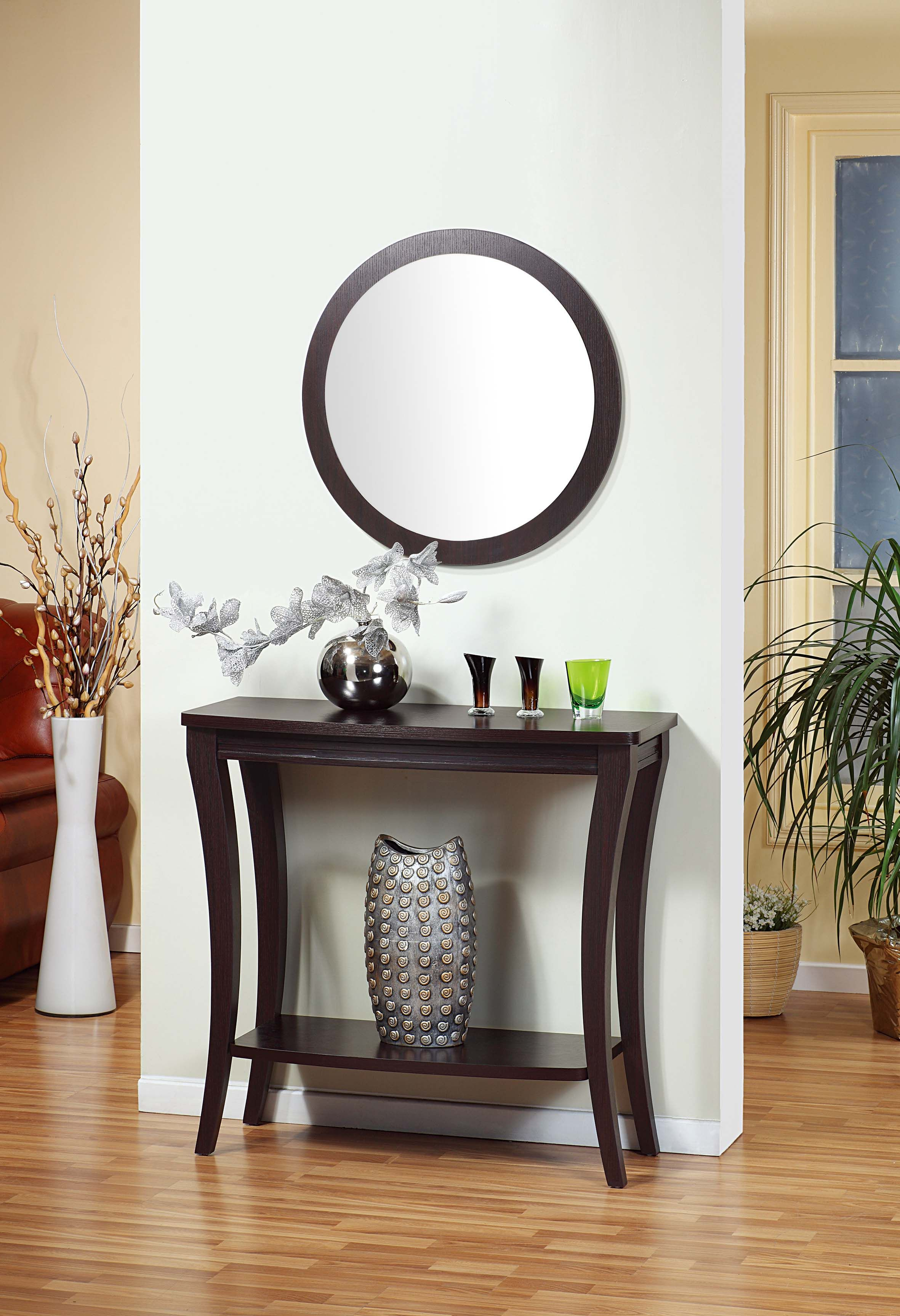 13707 Smart Home Modern Hallway Console Table Features An All