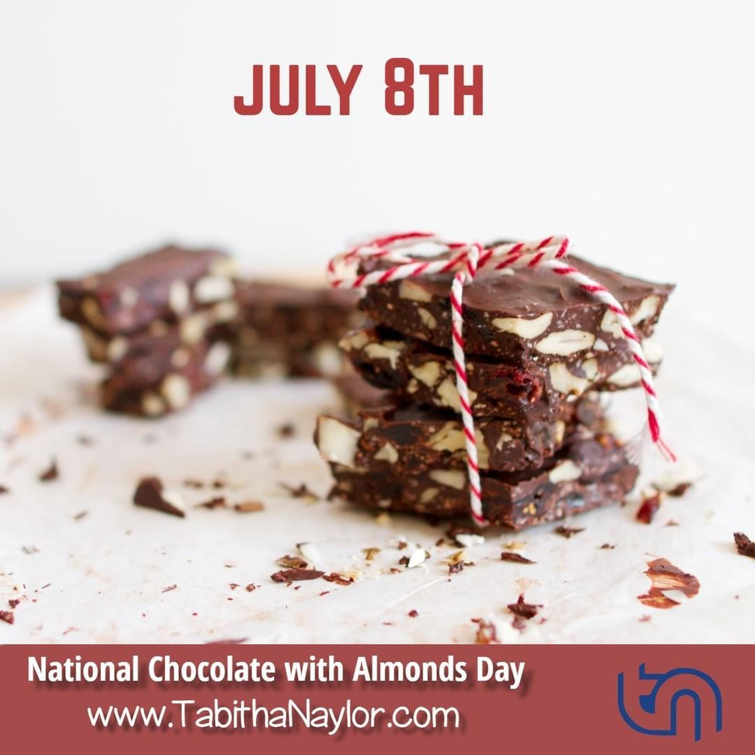 National Chocolate With Almonds Day Is Observed Annually On July 8th What A Great Combi Slow Cooker Recipes Dessert Chocolate Bark Recipe Slow Cooker Desserts
