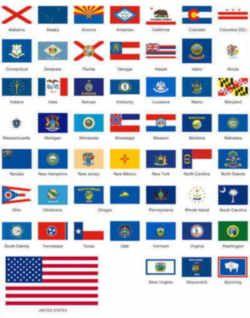 State Flags Us States Flags State Flags Flag
