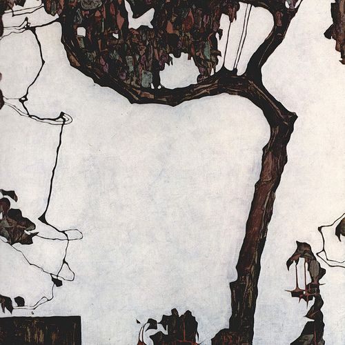 Egon Schiele Landscape Tree 2 by griffinlb, via Flickr See them all at www.thebrushstroke.com
