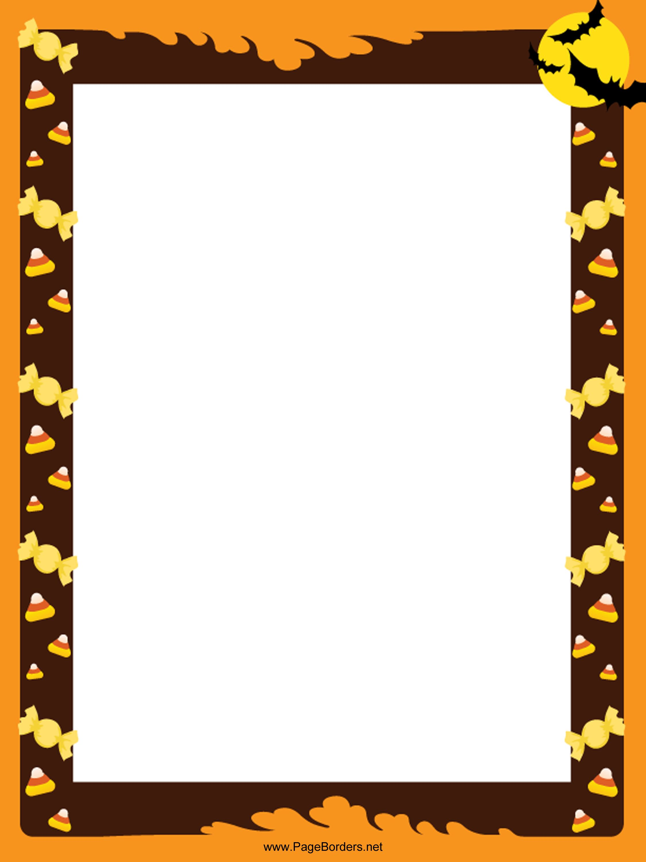 number a4 page borders sb11412 sparklebox note