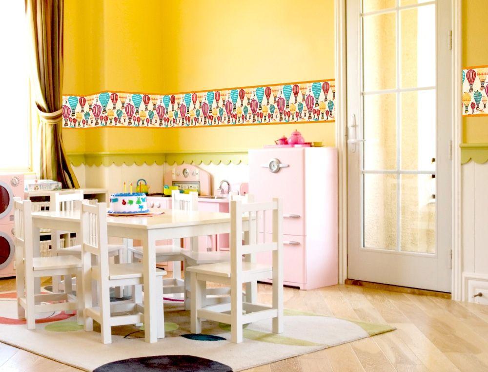 Ballon Bordüre für Kinderzimmer - I-love-Wandtattoo.de ...