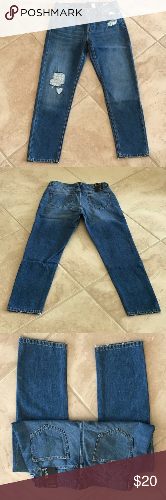 H&M Girlfriend fit jeans brand new with tags H&M Girlfriend jeans brand-new with tags H&M Jeans