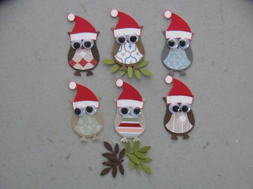 Stampin Up Christmas 6 Owl 6 Branch Punches Set of 6   eBay