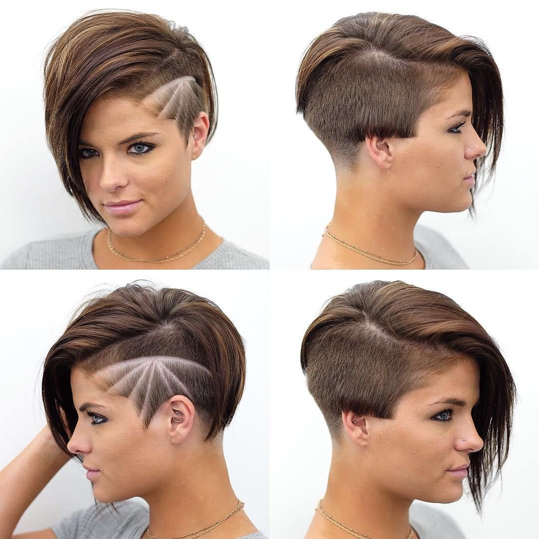 pixie haircuts with bangs - 50 terrific tapers | shaved