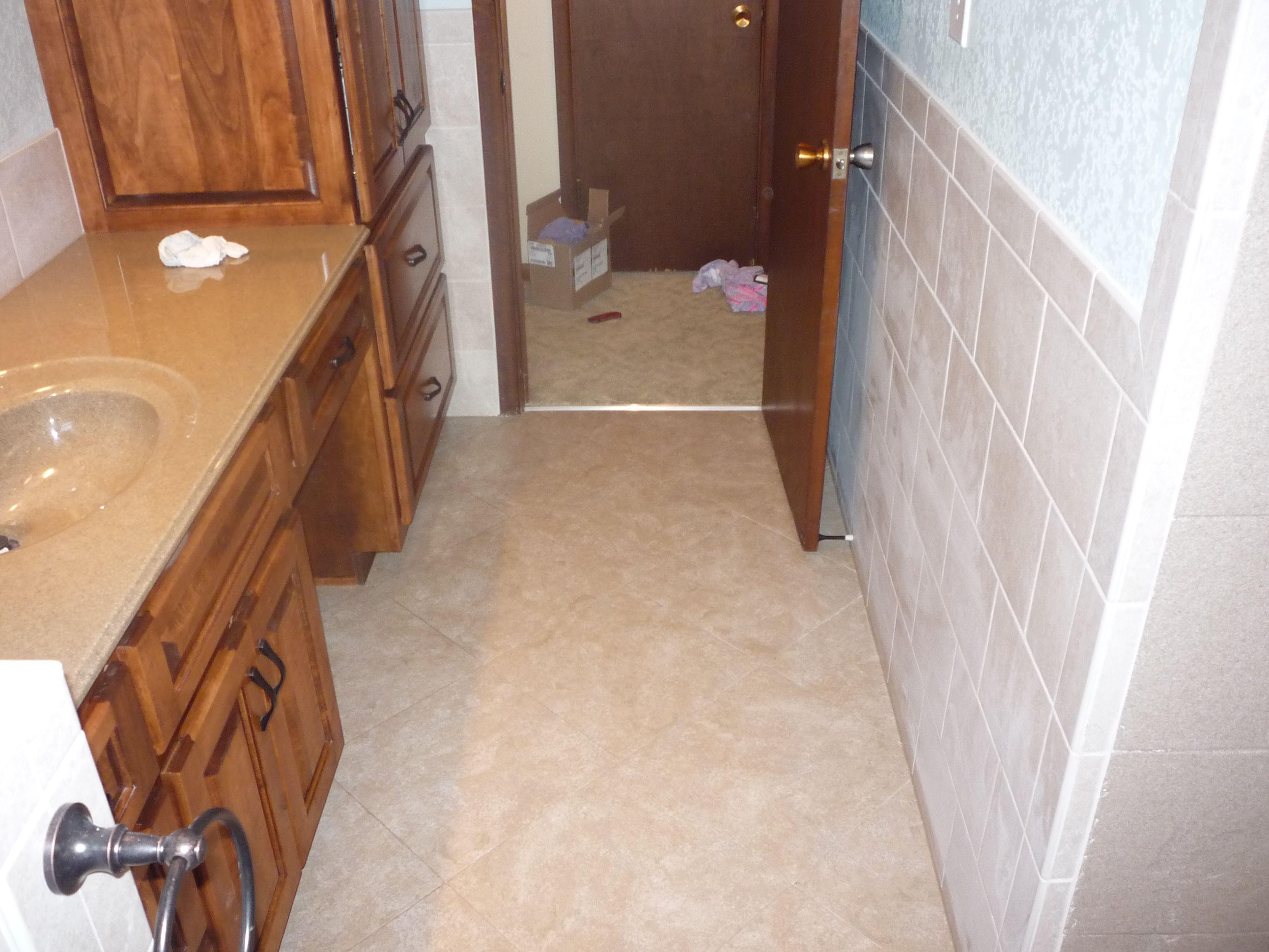 Bathroom remodel ceramic tile on walls dura ceramic flooring bathroom remodel ceramic tile on walls dura ceramic flooring onyx vanity top doublecrazyfo Images