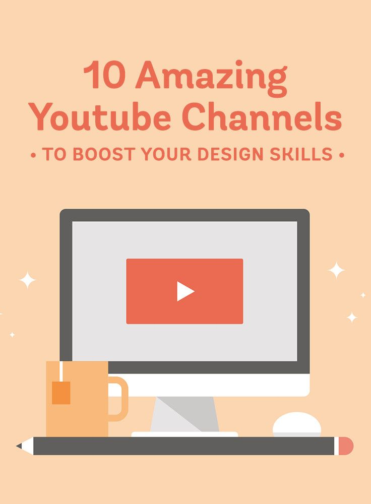 10 Amazing Youtube Channels To Boost Your Graphic Design Skills Design Skills Graphic Design Lessons Web Design Quotes