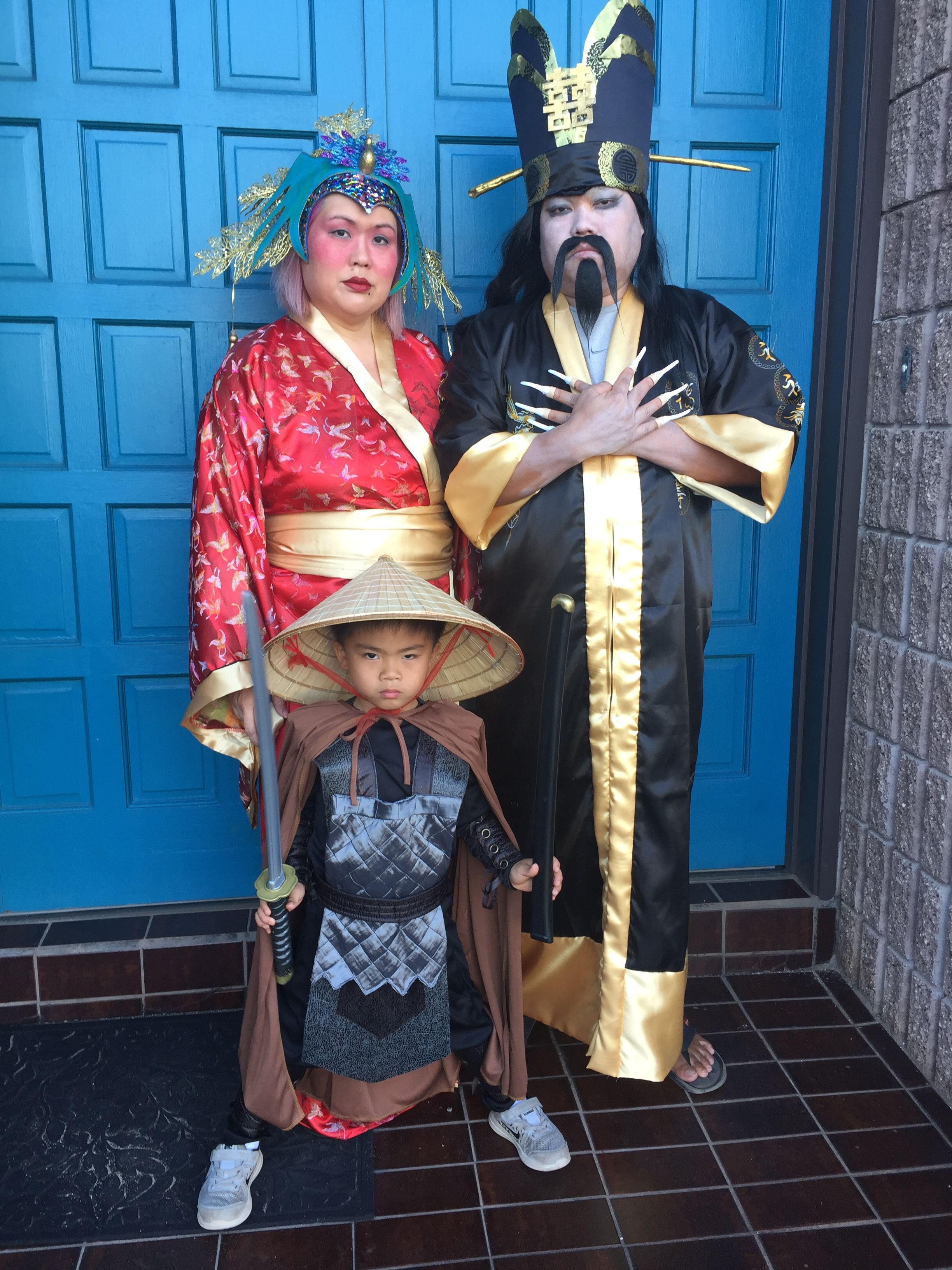 Big Trouble In Little China Family Halloween Costumes Diy Lo Pan Lightning G Family Halloween Costumes Diy Diy Halloween Costumes Family Halloween Costumes
