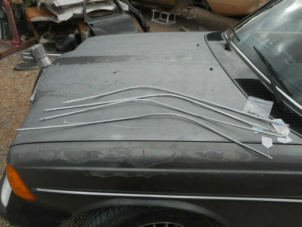 Mercedes Benz Ponton Roof Rain Gutter Trim Set Over Door Exterior Good Parts And Accessories Cars Trucks Car