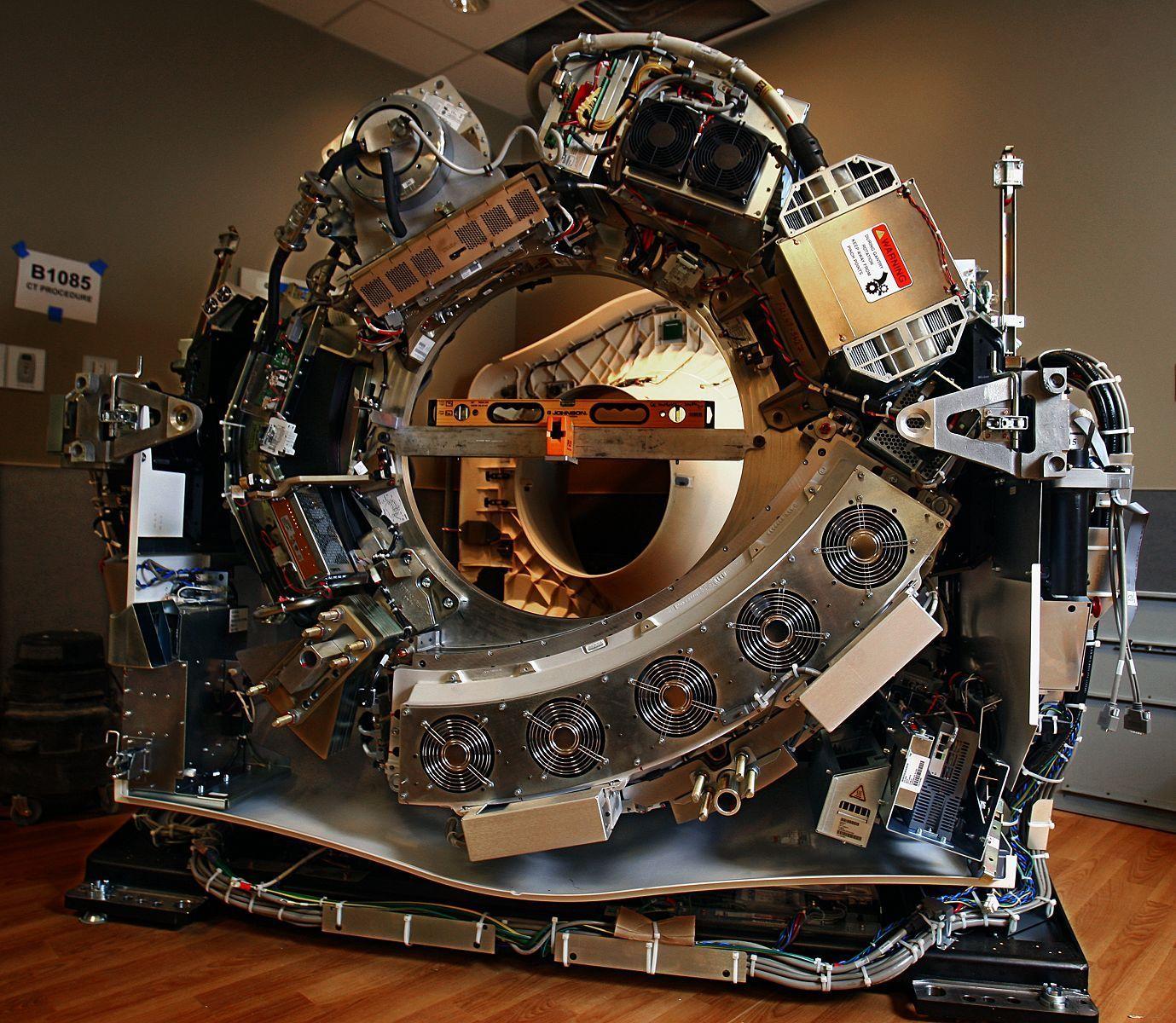 Naked CT Scanner.