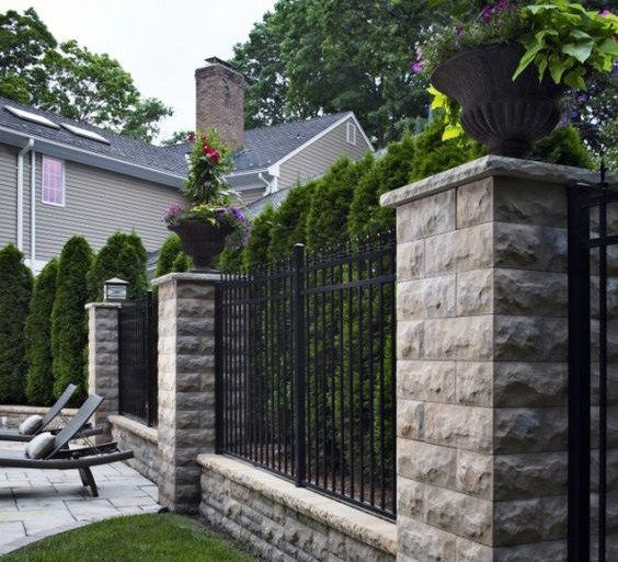 Belair fence Home decor Pinterest Fence, Wall and Patio fence