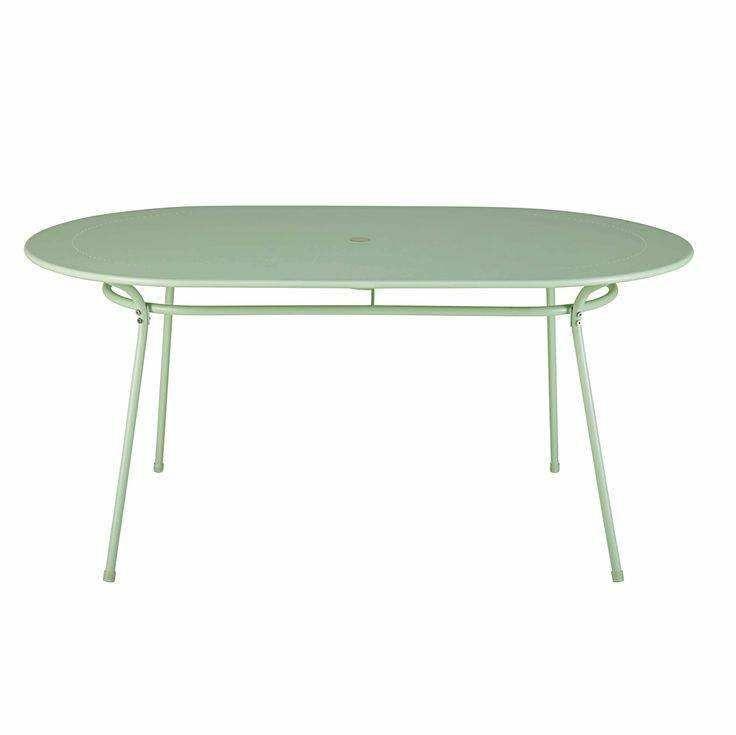 Gartentisch Metall Rechteckig Elegant Famous Gartentisch Oval