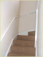 pigs ear handrail (wall mounted handrails)