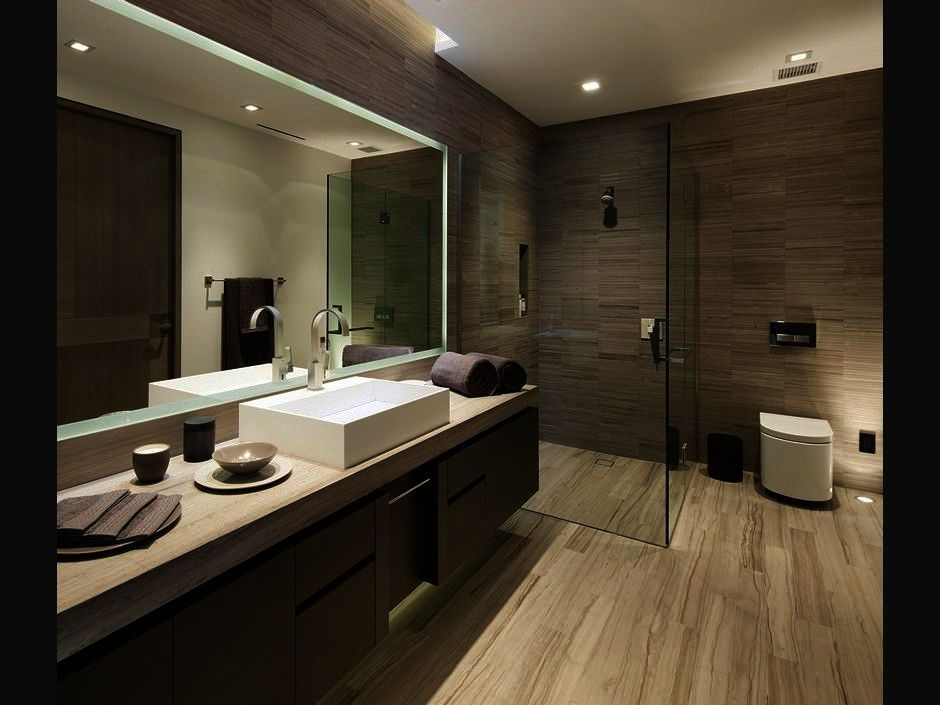 Contemporary Bathroom Lighting Ideas Simple Contemporary Bathroom ...
