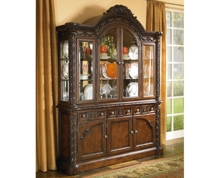 China Buffet Hutch D553 BH North Shore Furniture Factory Direct