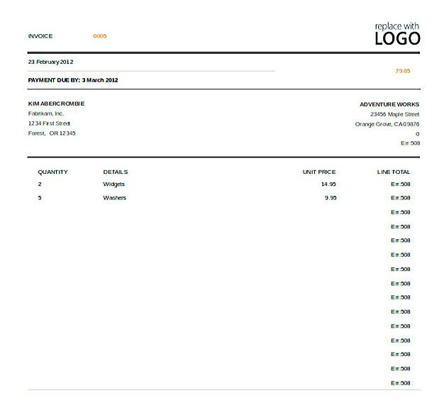 Excel Invoice Template Free , Free Invoice Template Download You - excel invoice