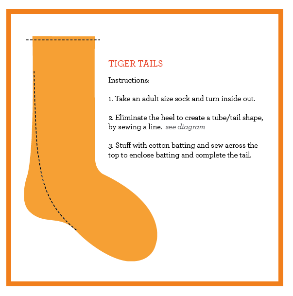 Tiger Party- tiger tail diagram- tutuorial  sc 1 st  Pinterest & Tiger Party- tiger tail diagram- tutuorial | Birthday Parties ...