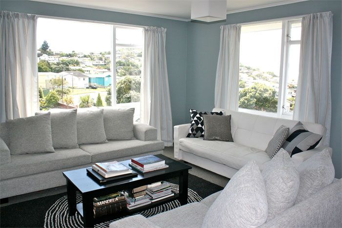 Calming Colors For Living Room a calming colour scheme of resene paints | for the home