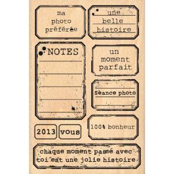 Souvent ETIQUETTES VINTAGE | Scrap - Tampons bois | Pinterest | Etiquette  NB06