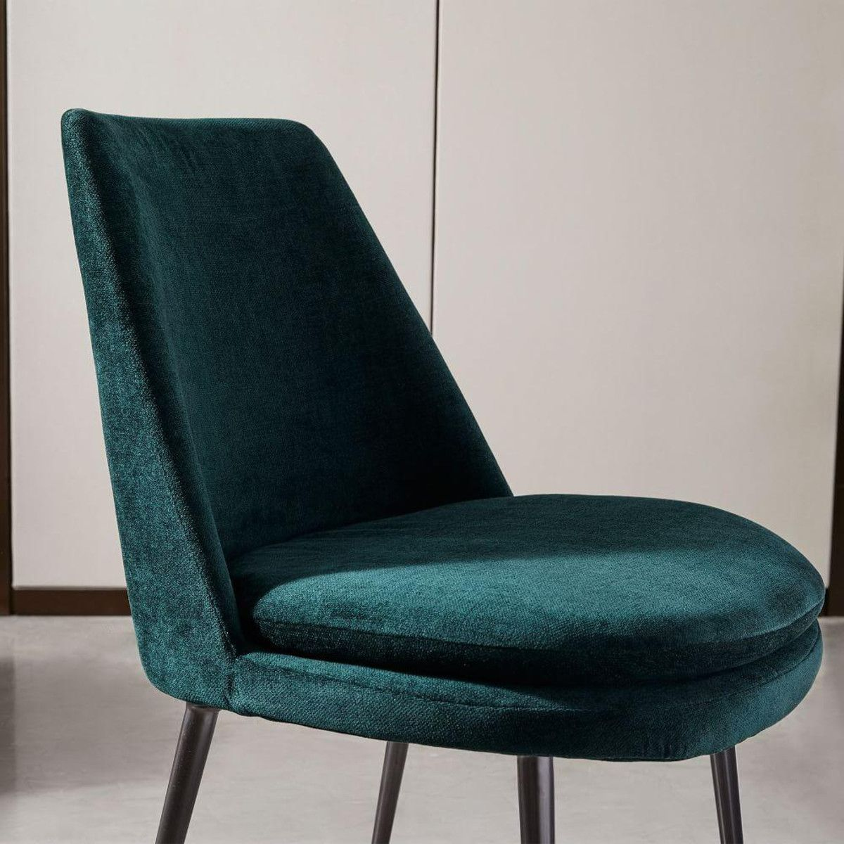 low back dining chairs. Finley Low-Back Velvet Dining Chair Low Back Chairs