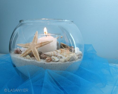 31 days of weddings day 29 beach theme beach centerpieces beach themed wedding centerpieces with wedding decor wedding themes beach wedding wedding decoration beach at wedding centerpieces junglespirit Image collections