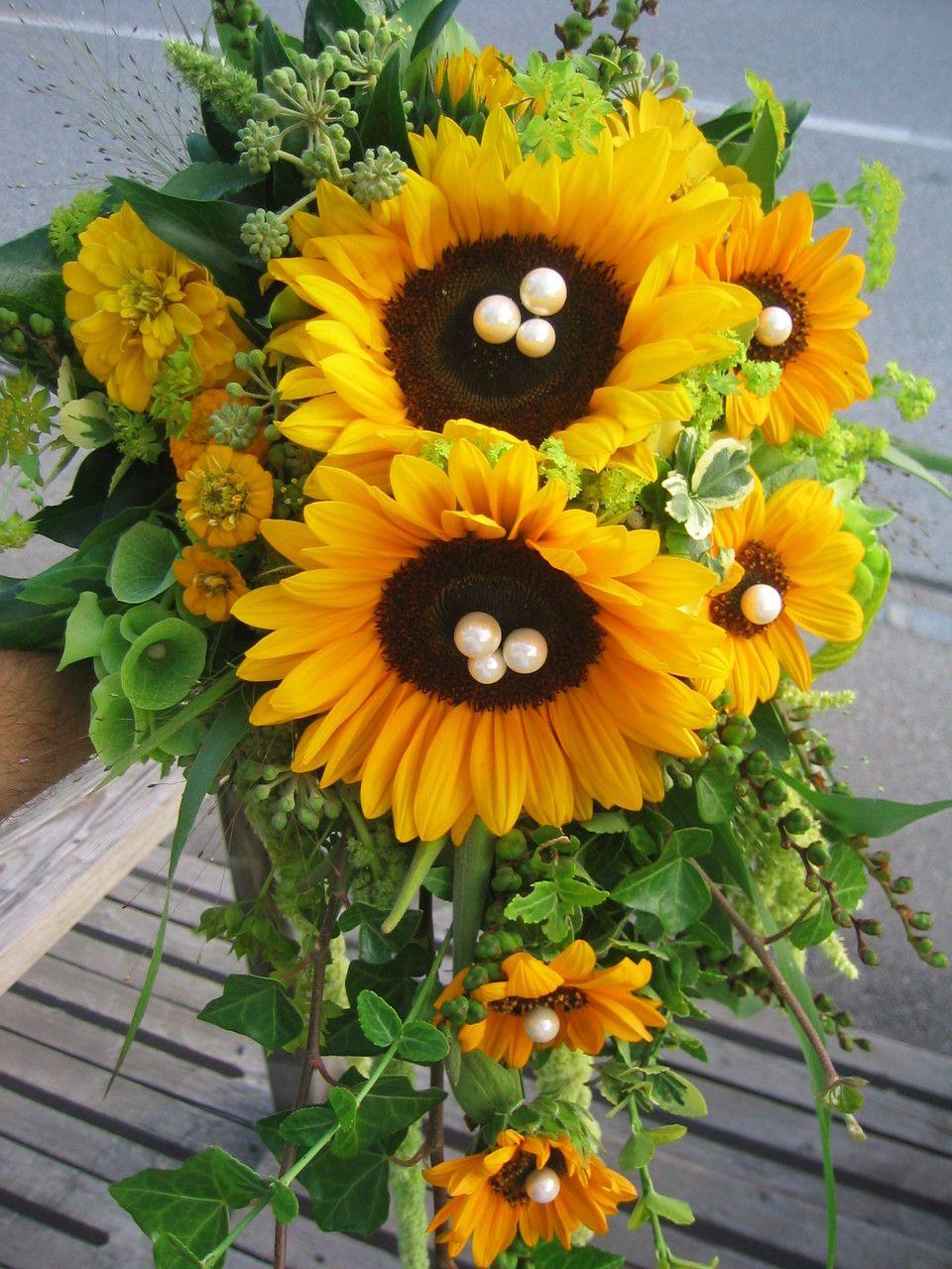 Hochzeitsmotto Sonnenblumen Natrlich auch im