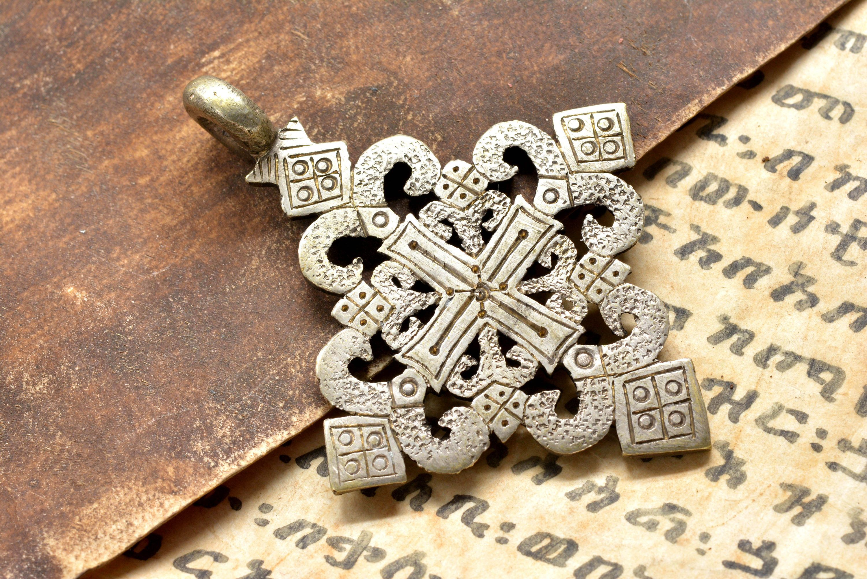our pin pendant version cross traditional woven of silver sterling jerusalem artistic a floating