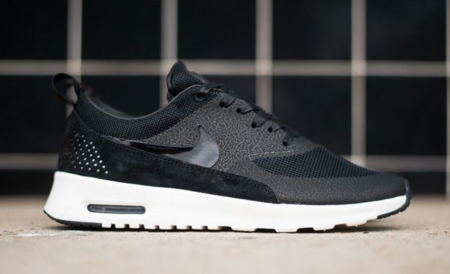 Nike Air Max Thea Black And White Womens