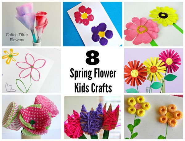 9 sweet spring flower crafts for kids flower crafts spring 9 sweet spring flower crafts for kids flower crafts spring flowers and flower mightylinksfo Choice Image