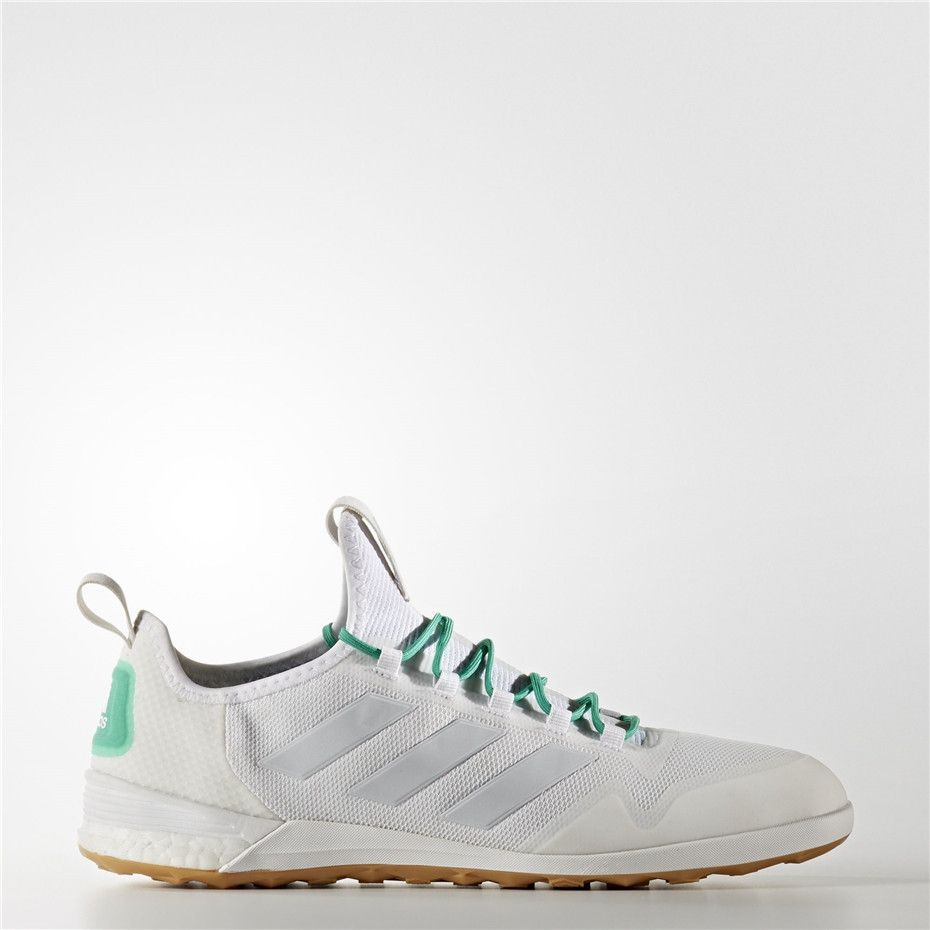 on sale 4c44b ddca6 Adidas ACE Tango 17.1 Indoor Shoes (Running White Ftw   Clear Grey   Core  Green)