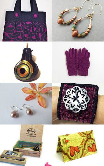 Plum Lime Gold by Kelly Walston on Etsy--Pinned with TreasuryPin.com