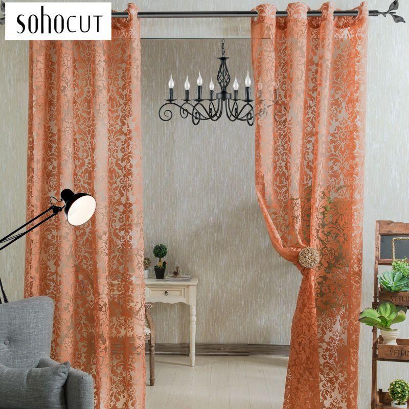 Fancy Curtains Beaded Curtain Door Window Curtain Living Room