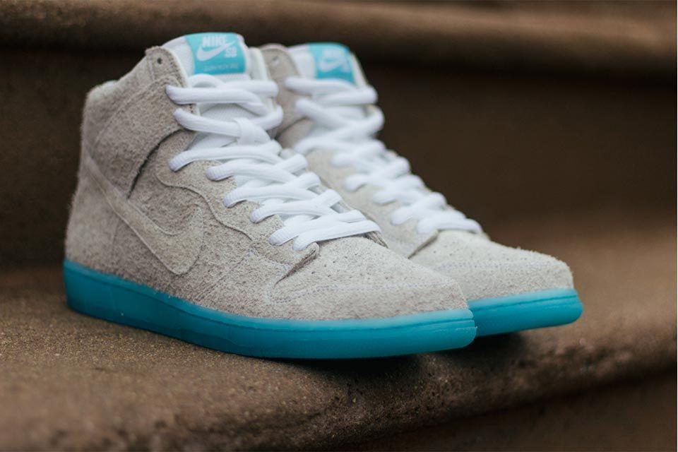 Nike Dunk high - Zapatillas de Tela para hombre azul turquesa Azul Size: 45 4OhaD