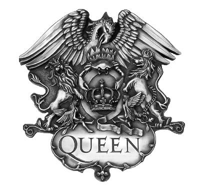 Queen Crest Queen Banda Lendas Da Musica We Will Rock You