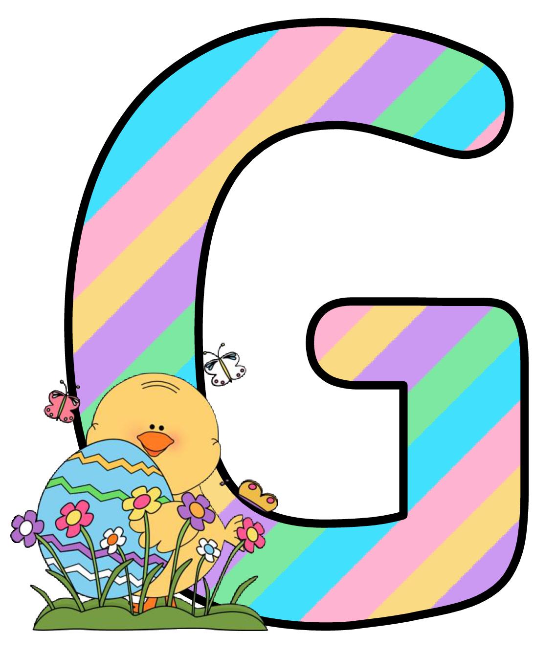 Ch B Alfabeto Easter De Kid Sparkz