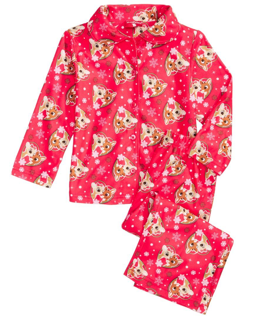 Rudolph the Red-Nosed Reindeer 2-Pc. Pajama Set 690d170f4
