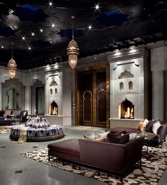 The best Interiors inspired by Hotels MOROCCAN INTERIOR DESIGN