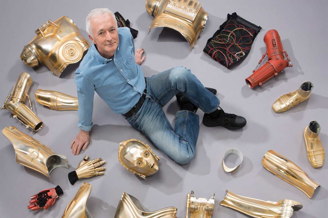 The Last Human Robot After four decades in the C-3PO suit, Anthony Daniels is Star Wars' most special effect of all.